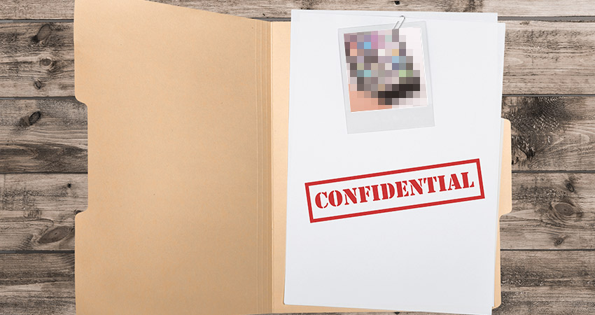 Don't Publish Confidential Information