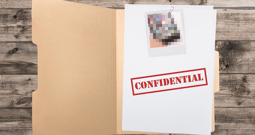 Don't Publish Confidential Information