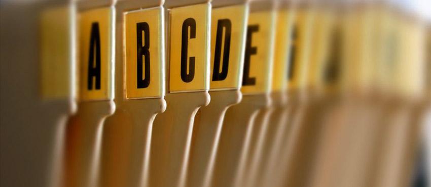 Identify Broad Categories