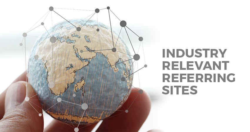 Industry Relevant Referring Sites