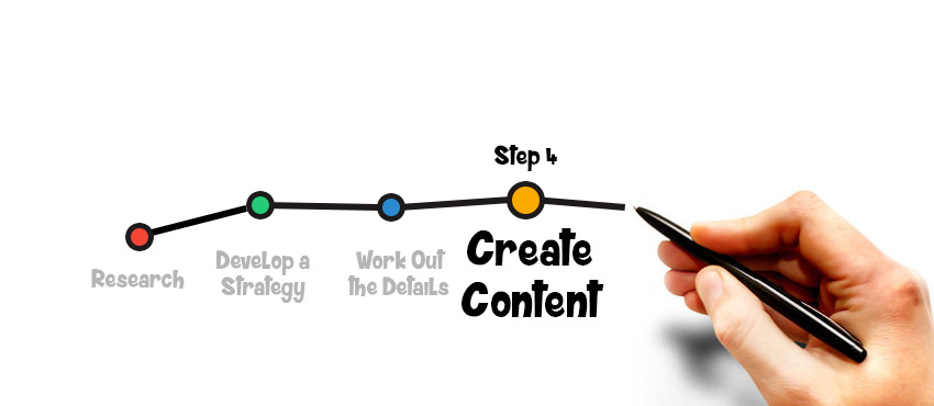 Step 4: Create Content