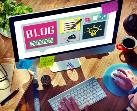 Create a branded blog