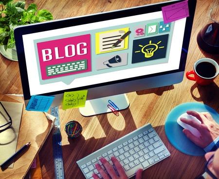 Create a branded blog