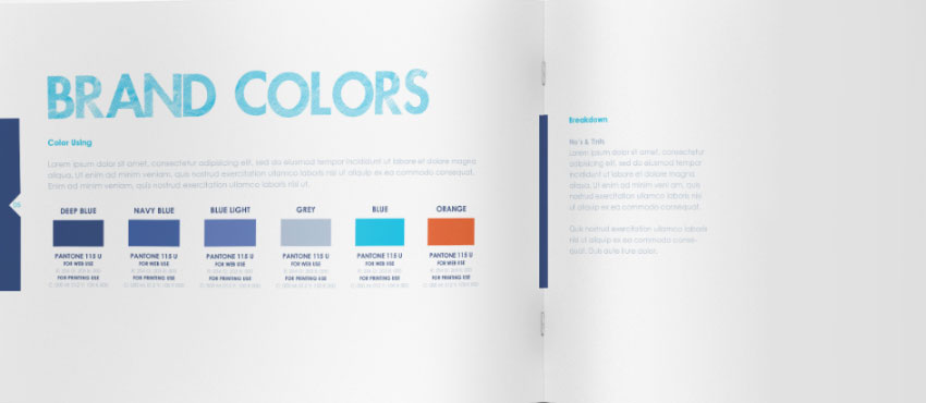 Not Creating Clear Brand Guidelines