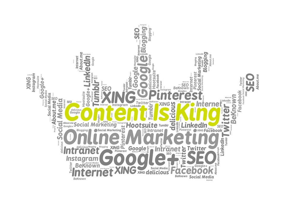 Content is king in websites
