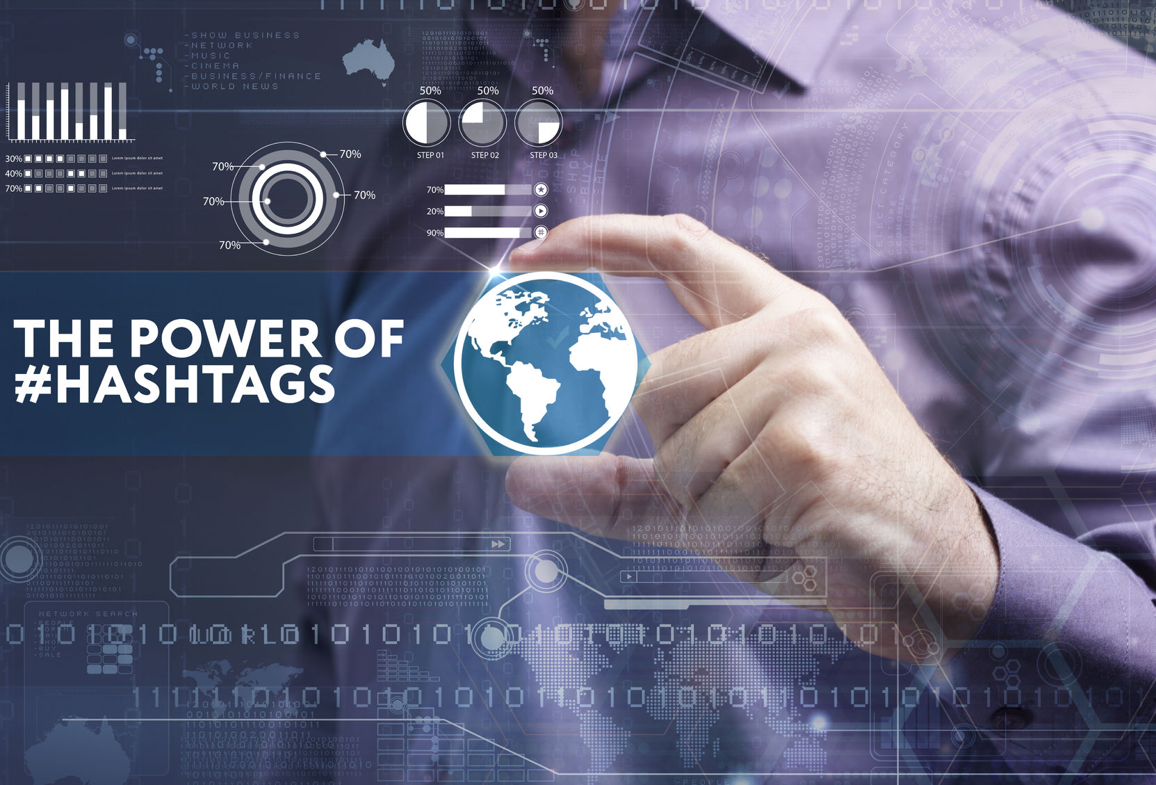 Harness the power of hashtags