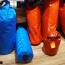 Dry bags of different sizes