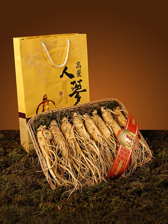 Ginseng roots for health
