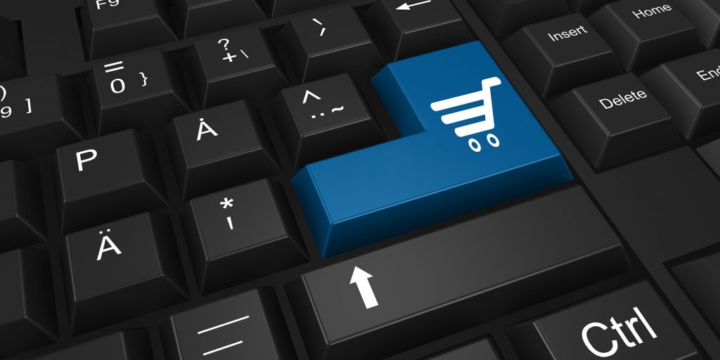 keyboard shopping button